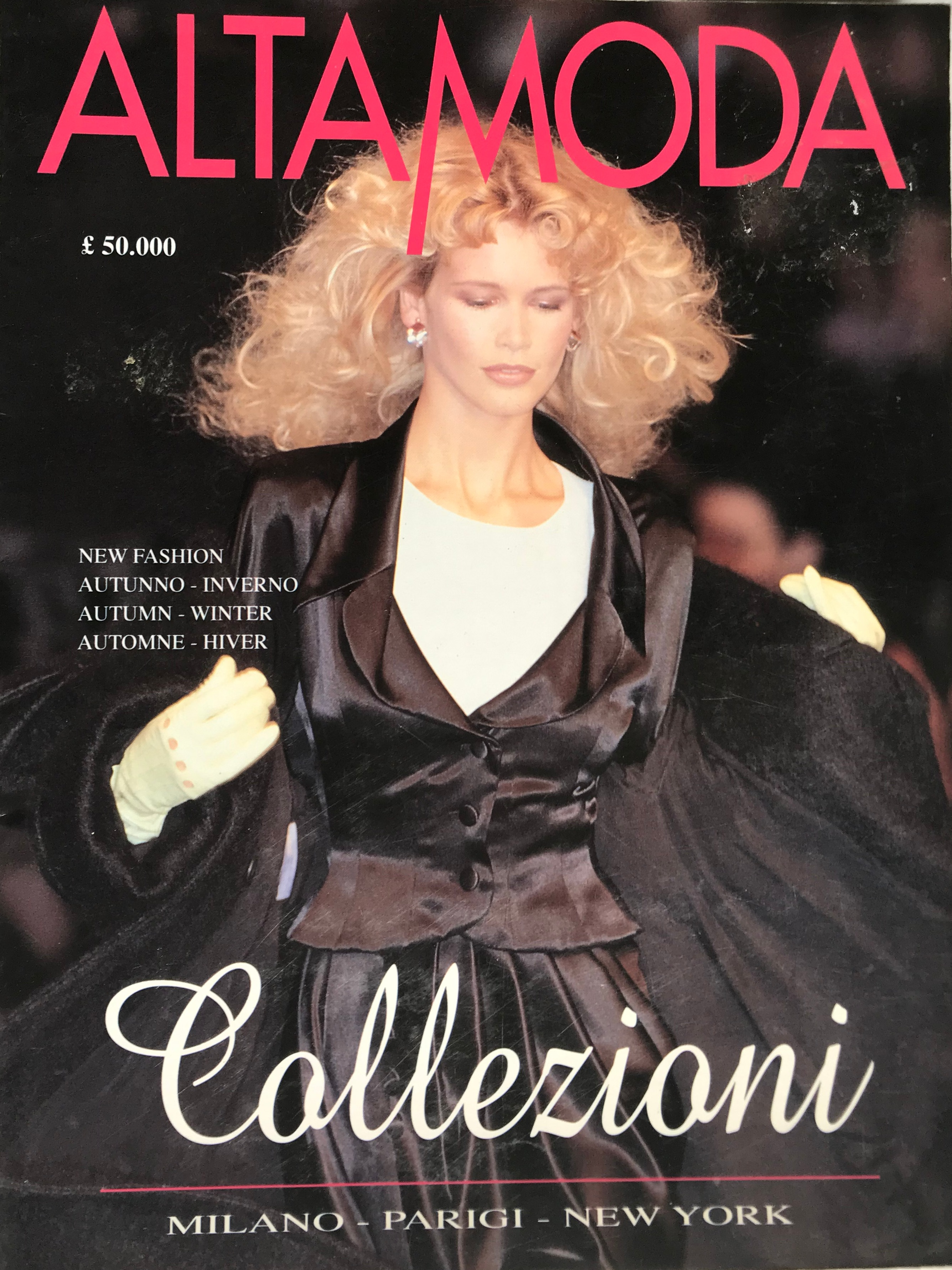 ALTA MODA 1995 - Autumn-Winter